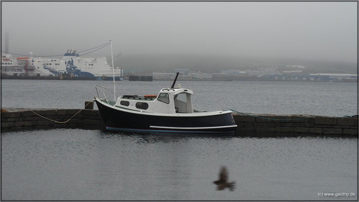 Der alte Hafen von Lerwick - heute