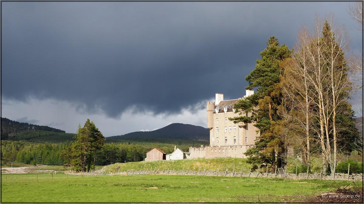 Braemar Castle - hier soll es spuken