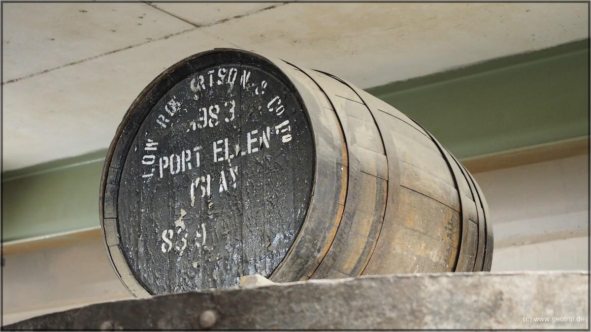 Das letzte Port Ellen Fass - falls nicht doch irgendwo noch eins 'gefunden' wird ;)