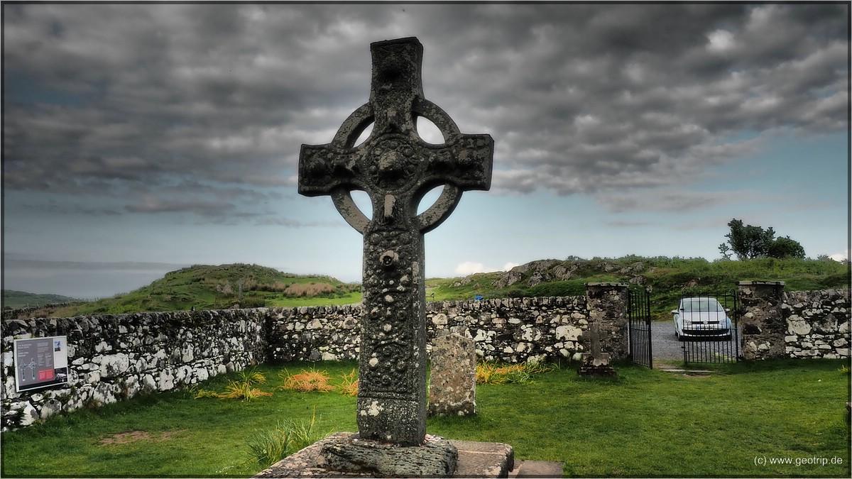 mit dem berühmten Kreuz