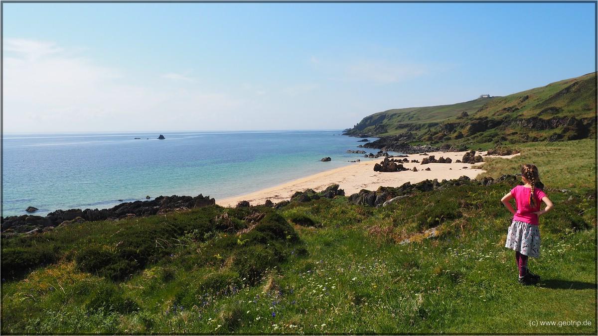 2. Ziel. Singing Sands - was ein schöner Name für einen Strand!