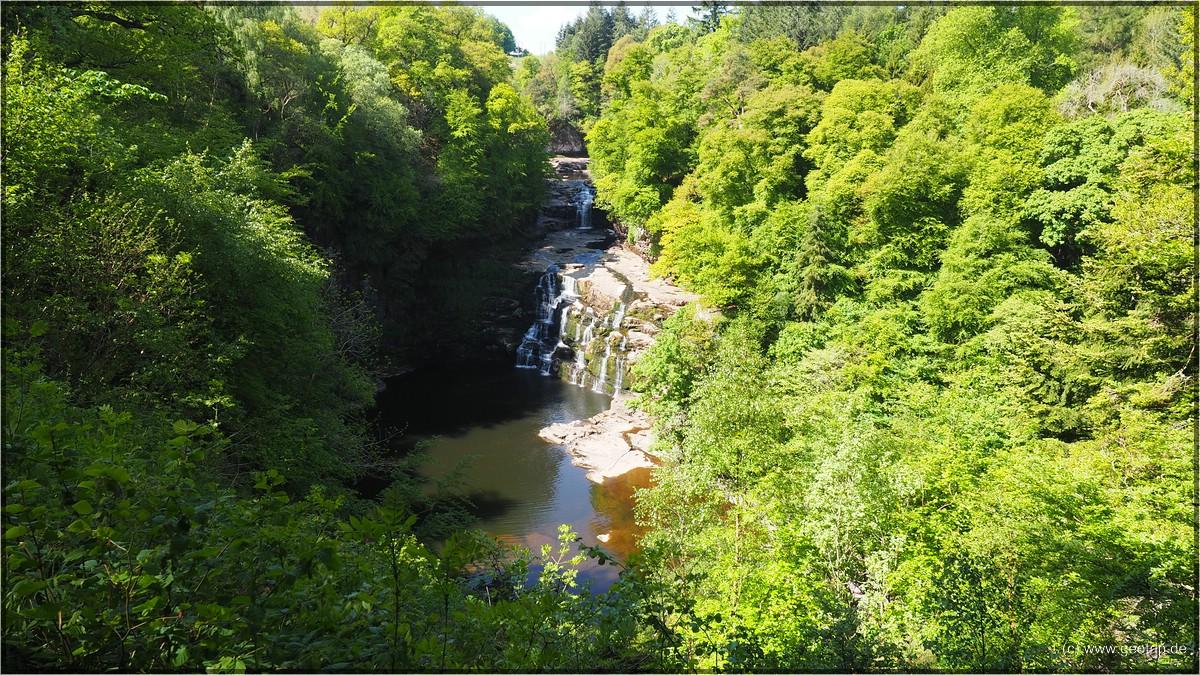 und schauen den River Clyda