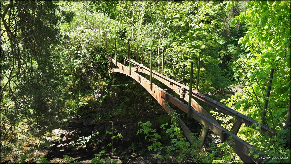 Mary's Brücke ist in schlechtem Zustand