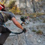 Maras erster Klettersteig